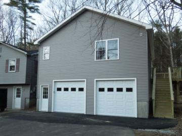 2 level garage with deck nh