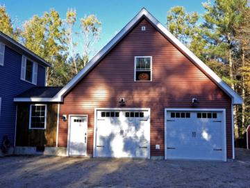 garage addition with loft