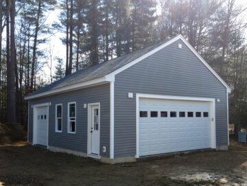 detached garage builder nh
